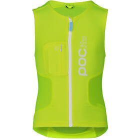 POC POCito VPD Air Protector Vest Kids fluorescent yellow/green